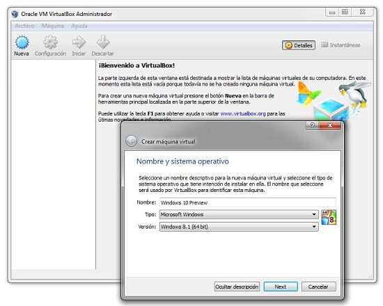 Windows10-VirtualBox