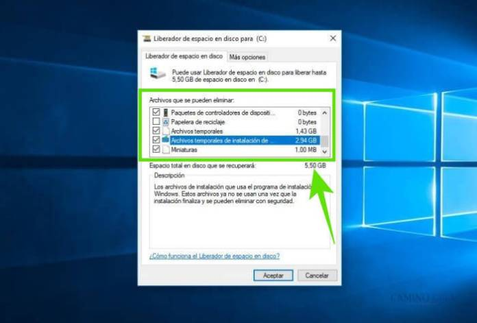 Cómo borrar archivos temporales temporales y liberar espacio en disco duro de Windows 10