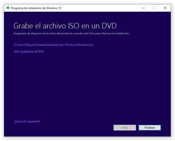 Descargar Windows 10 en Español