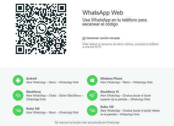 WhatsApp Web y utiliza Whatsapp para PC