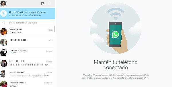 Cómo utilizar Whatsapp en la PC con WhatsApp Web