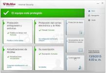 Descargar McAfee Internet Security full gratis por 6 meses