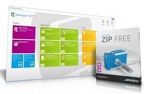 Ashampoo Zip Free: Utilidad para comprimir y descomprimir archivos gratis y con facilidad
