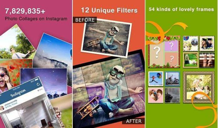 Instaframe es una de las mejores apps Android para crear collage de fotos