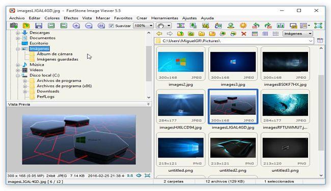 FastStone Image Viewer: Alternativas a Picasa
