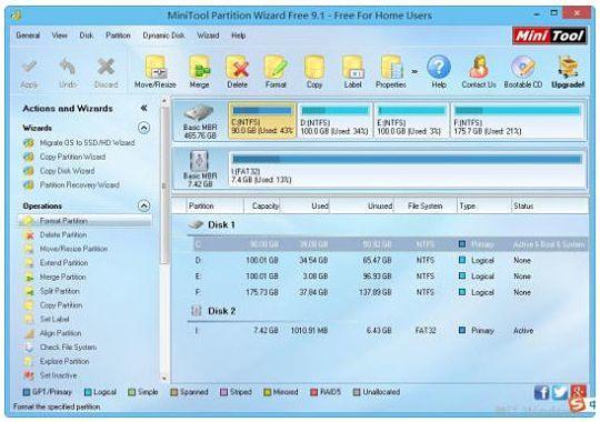 MiniTool Partition Wizard Free Edition, una utilidad para gestionar particiones de disco