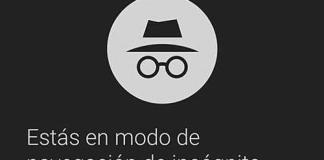 Abrir el modo incógnito de Chrome en Android