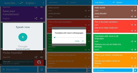 TranslateVoice: Una de las mejores aplicaciones traductores de idiomas en Android e iOS