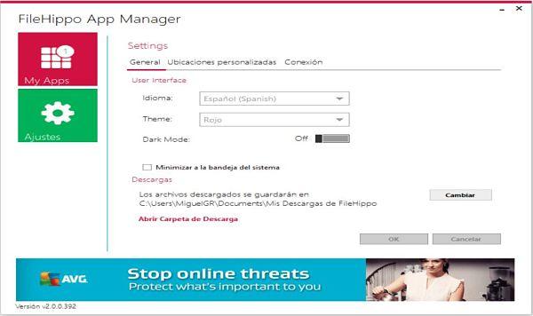 FileHippo App Manager: Un actualizador de software para Windows