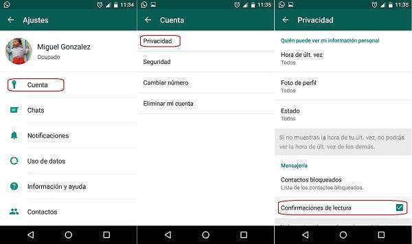Leer mensajes en WhatsApp sin que nadie lo sepa