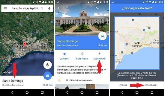 Cómo utilizar Google Maps sin internet en Android e iOS