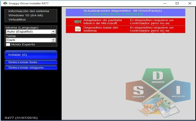 Snappy Driver Installer: Un buen programa para actualizar drivers