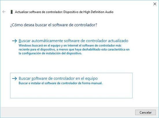 Cómo solucionar problema de audio en Windows 10; reparar controladores