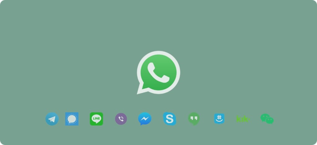 Aplicaciones parecidas, similares o alternativas a WhatsApp