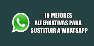 Alternativas para reemplazar o sustituir a WhatsApp