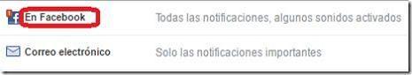Desactivar las notificaciones de Facebook Live