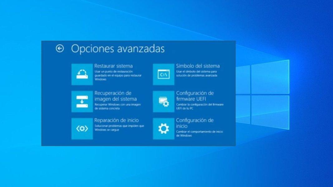 Cómo abrir las opciones avanzadas de arranque en Windows 10