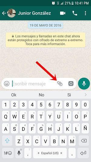 Cómo enviar mi ubicación en tiempo real por WhatsApp