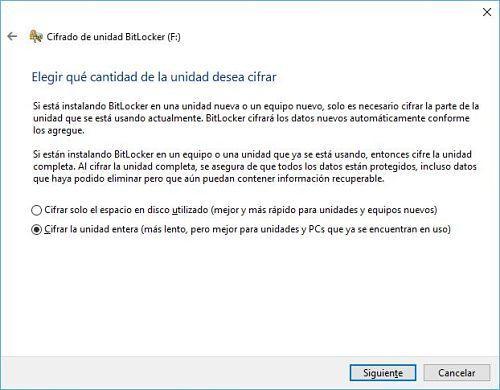 Cómo proteger un pendrive con contraseña usando BitLocker