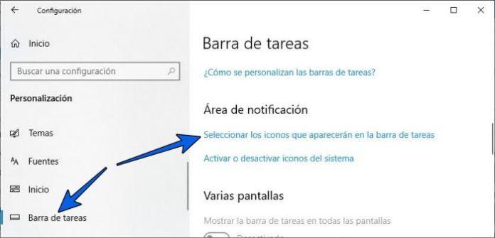 Cómo activar el icono de batería en Windows