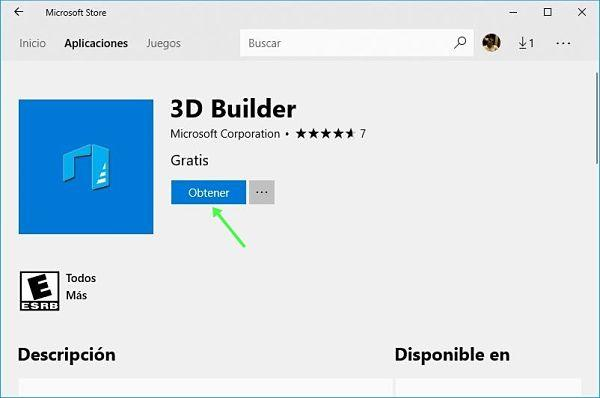 Reparar aplicaciones en Windows 10