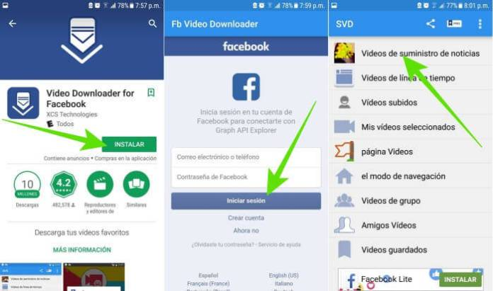 Cómo compartir un video de Facebook por WhatsApp