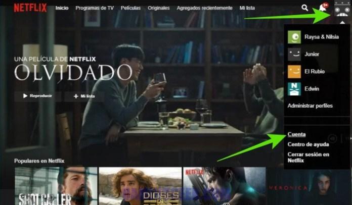 Desactivar la reproducción automática del siguiente episodio en Netflix