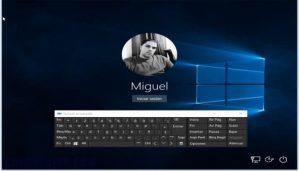 Cómo iniciar sesión sin teclado en Windows usando el teclado en pantalla