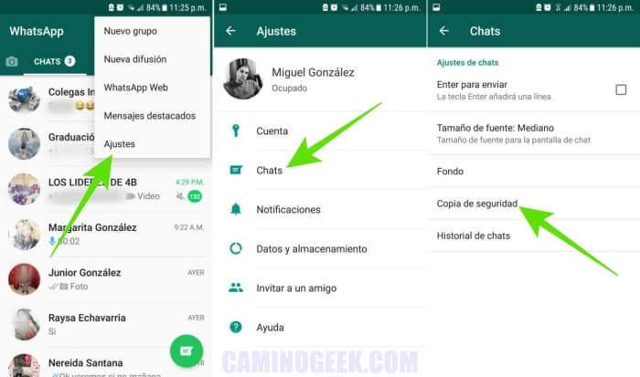 Cómo pasar conversaciones de WhatsApp de un teléfono móvil a otro