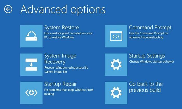 Cómo entrar al Símbolo del sistema sin iniciar Windows 10