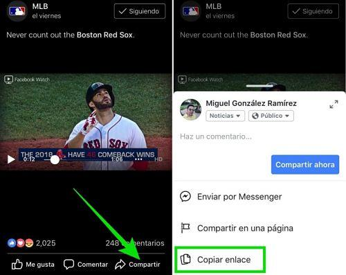 Cómo descargar videos de Facebook en iPhone
