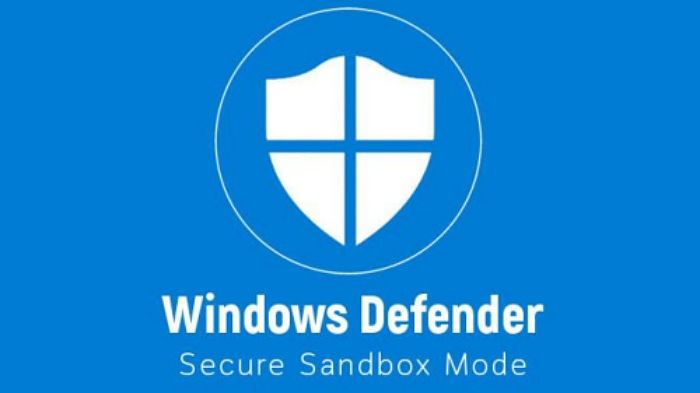 Activar el modo Sandbox de Windows Defender
