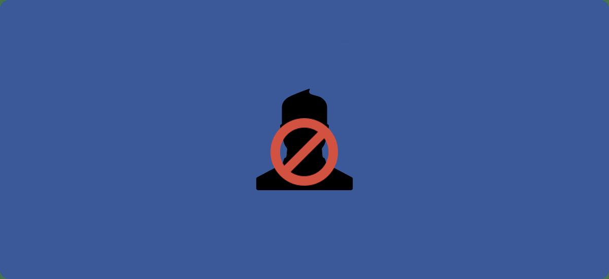 Cómo bloquear a un contacto o una persona en Facebook