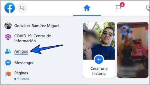 Entrar a Amigos en Facebook