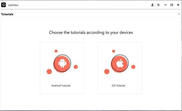 Transmitir y grabar pantalla del celular a la computadora con LetsView