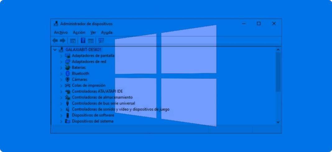 Cómo abrir el Administrador de dispositivos en Windows 10