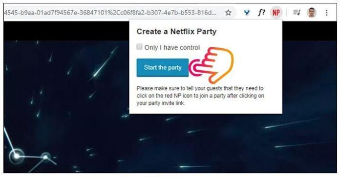 Cómo ver Netflix con amigos a distancia con Netflix Party
