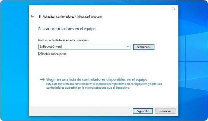 Cómo hacer copia de seguridad de drivers en Windows 10