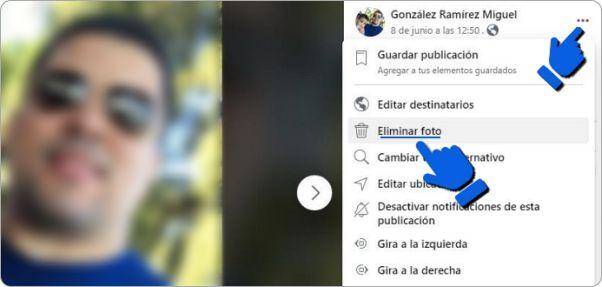 Cómo eliminar tu foto de perfil de Facebook.