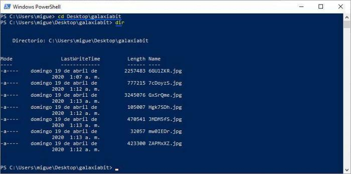 Cambiar el nombre de un archivo con PowerShell.