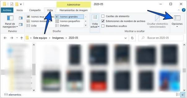 Ver o mostrar archivos ocultos en USB