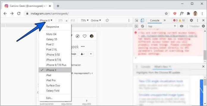 Cómo publicar en IG desde la PC