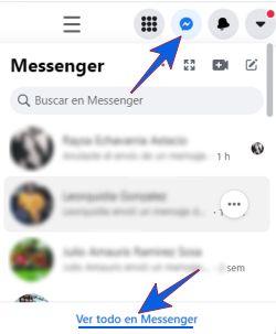 Entrar al Facebook Messenger