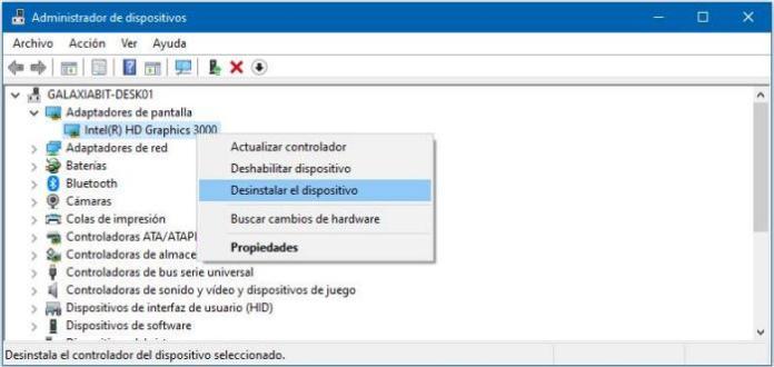 Solucionar pantalla negra de Windows después de iniciar