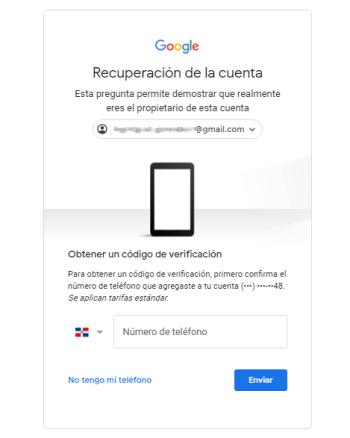 Recuperar mi Gmail hackeado.