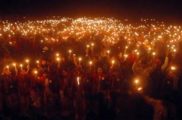 Marcha de luces