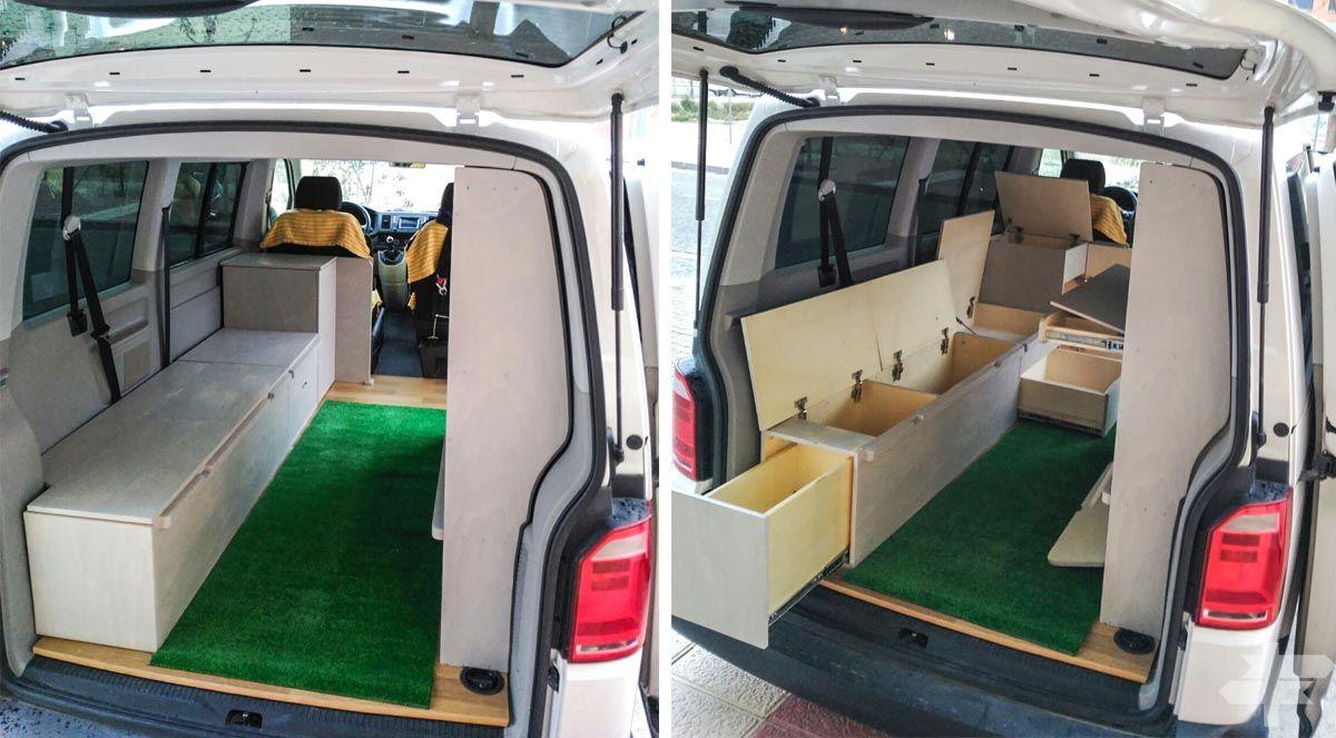 Ideas de muebles para furgoneta camper  Camperizacin