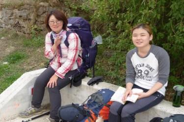 Dag 3 - Chae og Lucy fra Zubiri til Pamplona