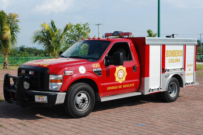 Camin de Rescate  Camiones de bomberos y vehculos de