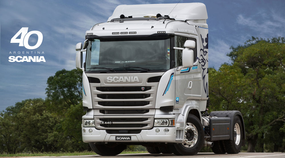scania silver line edition